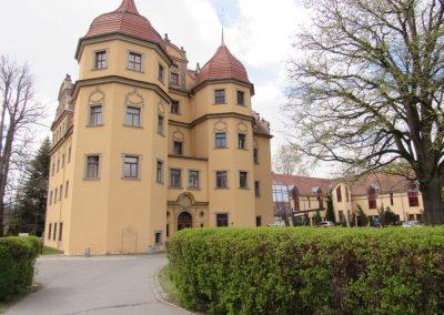 Schloß Althörnitz Hier Wurde 1707 Am Meißner Porzellan Geforscht